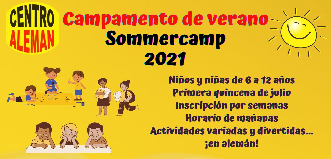 Campamento de verano – Sommercamp 2021