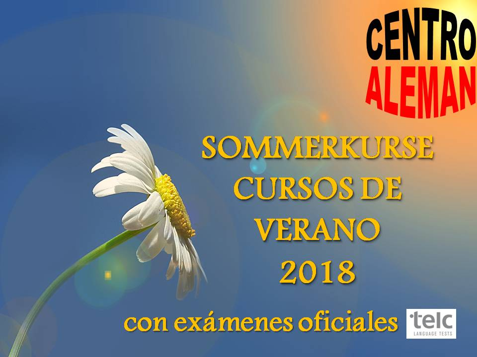 Sommerkurse – Cursos de verano 2018