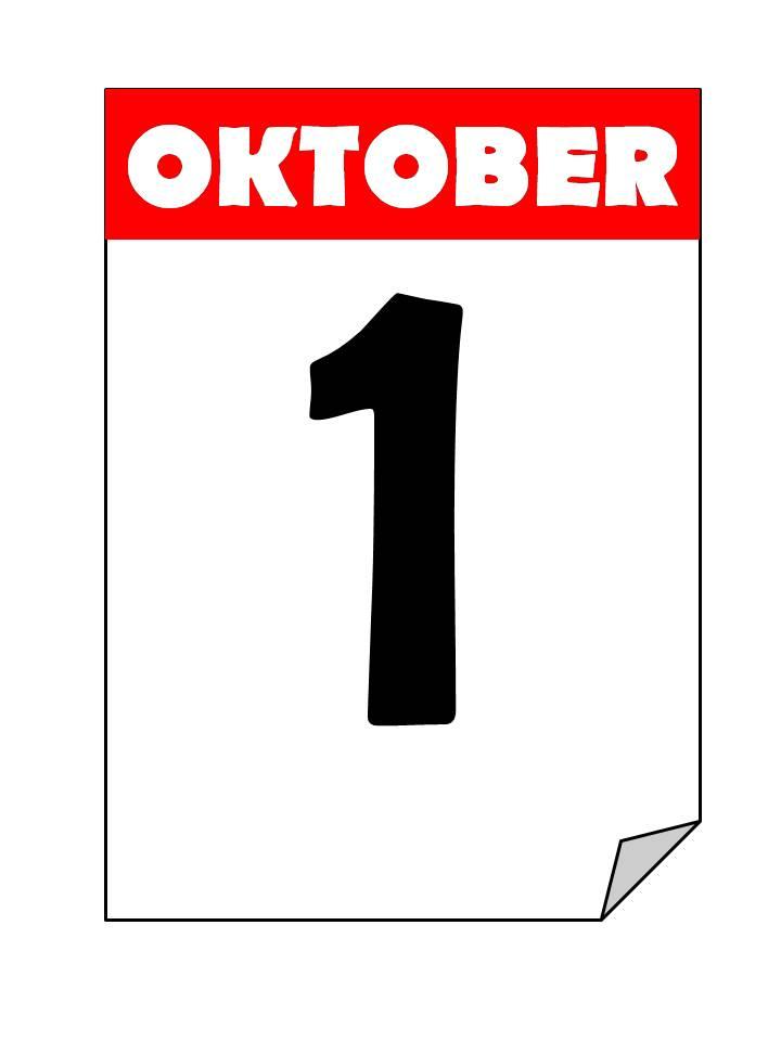 ¡El 1 de octubre empezamos!